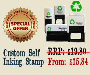 Rubber Stamp Shops Birmingham Free Delivery 7 Days A Week