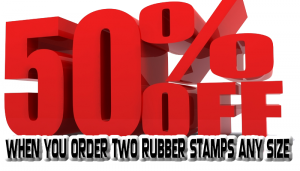 Rubber Stamp Shops Birmingham offers quality rubber stamps in 2 hours, 7 days. The #1 choice for all rubber stamps is Rubber Stamp Shops Birmingham. No VAT, Free Delivery and 50% Off Offers too!