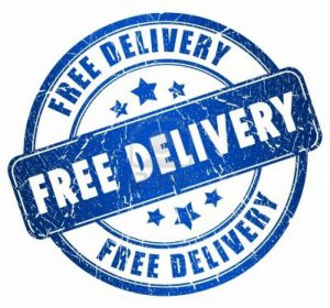 Rubber Stamp Shops offer Free Delivery for all custom rubber stamps and self inkers (except Same Day EOS Stamps) to anywhere in the UK