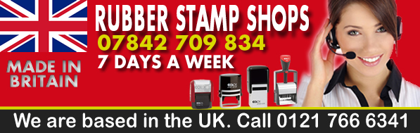 Rubber Stamp Shops Birmingham – FREE Delivery | 7 Days a week!